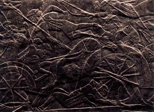 La cacera assíria # 07